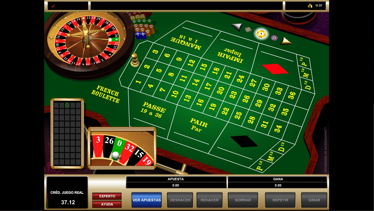 Rodillos de Slot FRENCH ROULETTE
