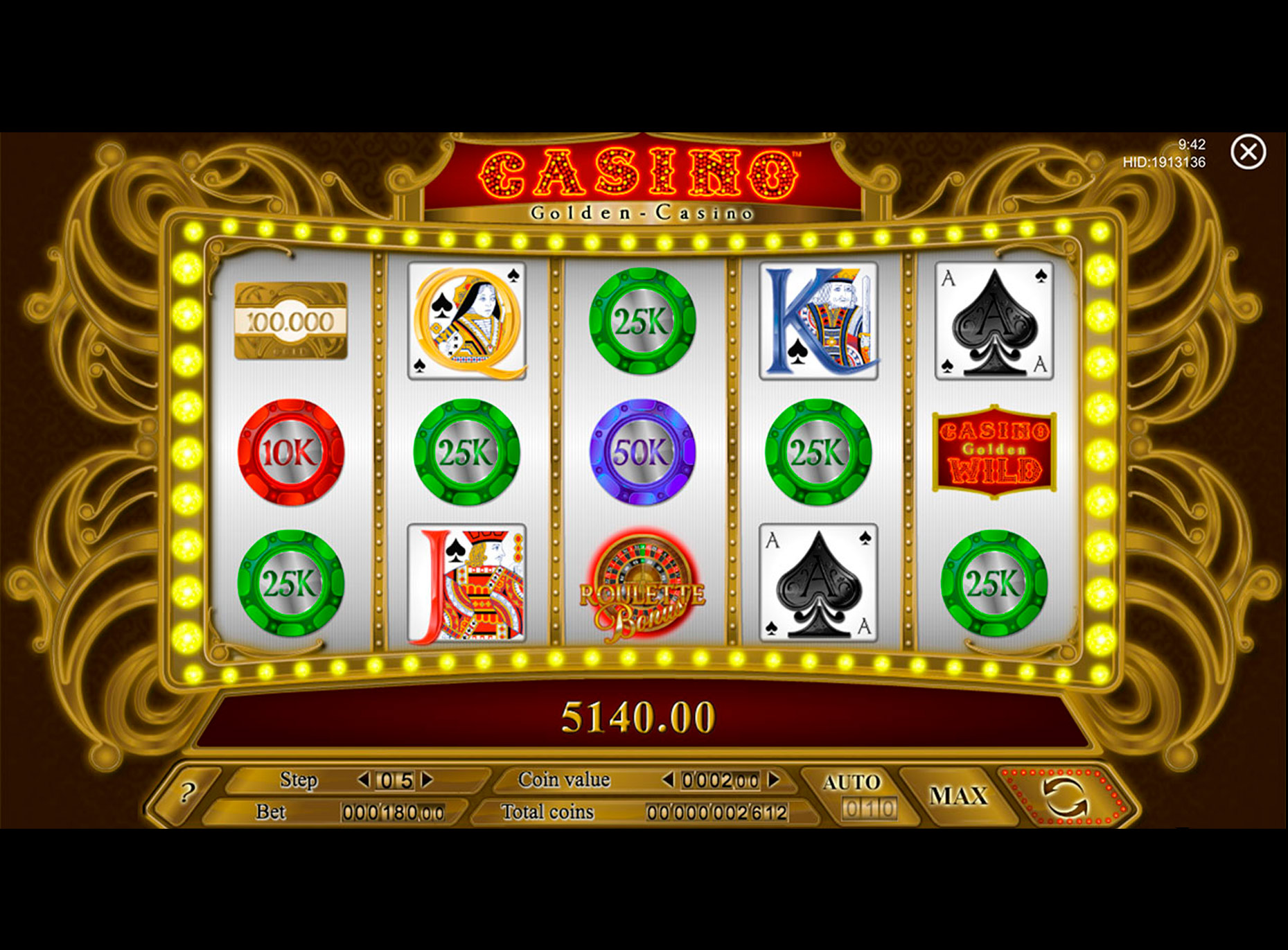 Slot Golden Casino