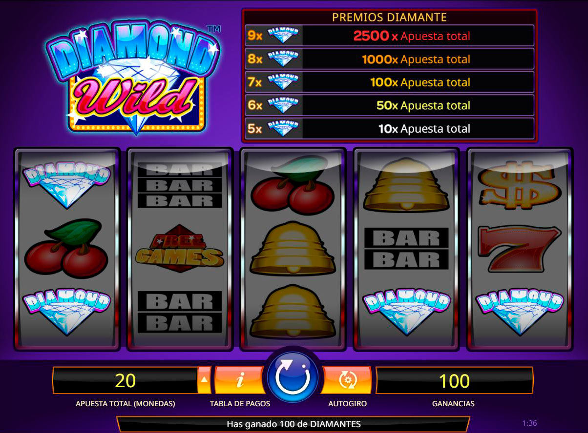 Slot Diamond Wild