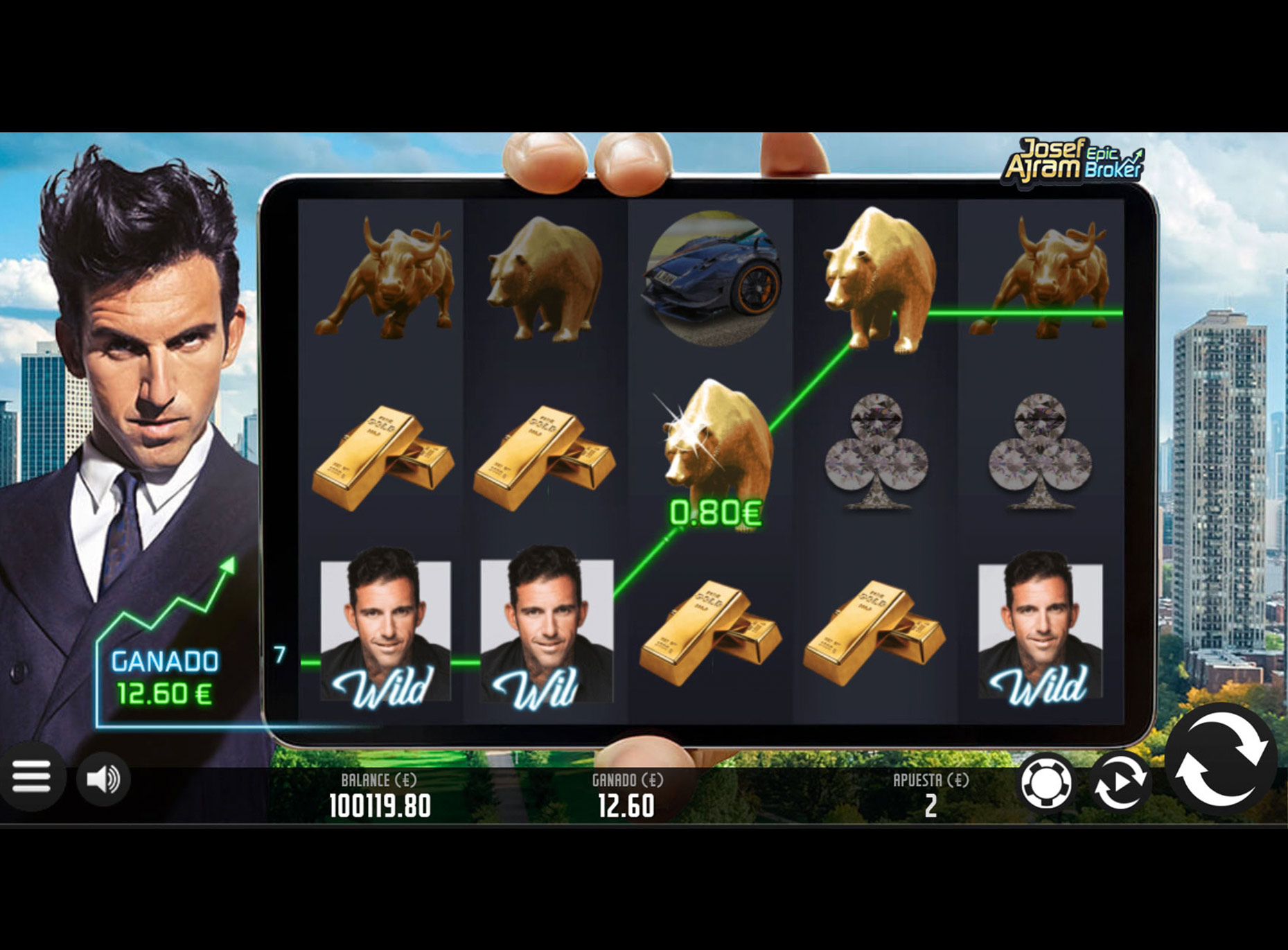 Slot Josef Ajram Epic Broker