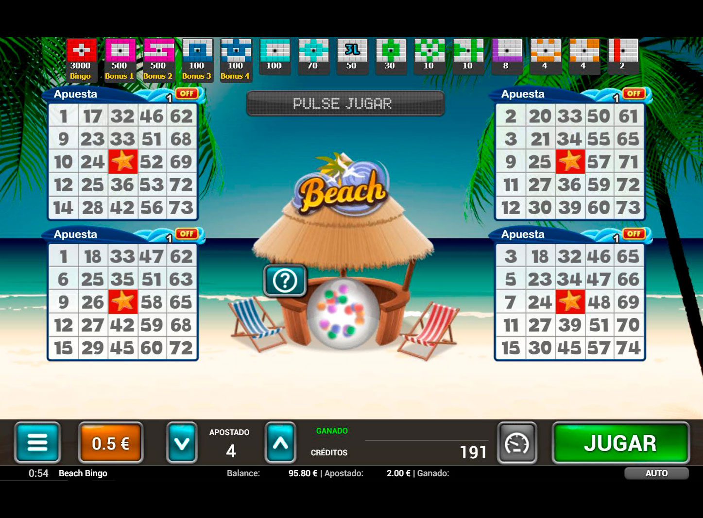 Slot Beach Bingo