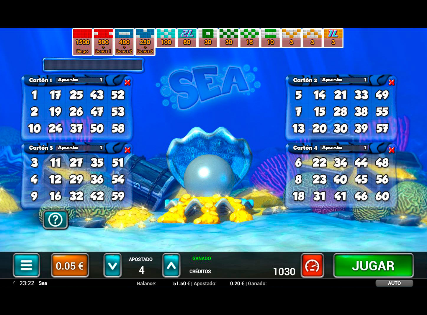 Slot Sea Bingo