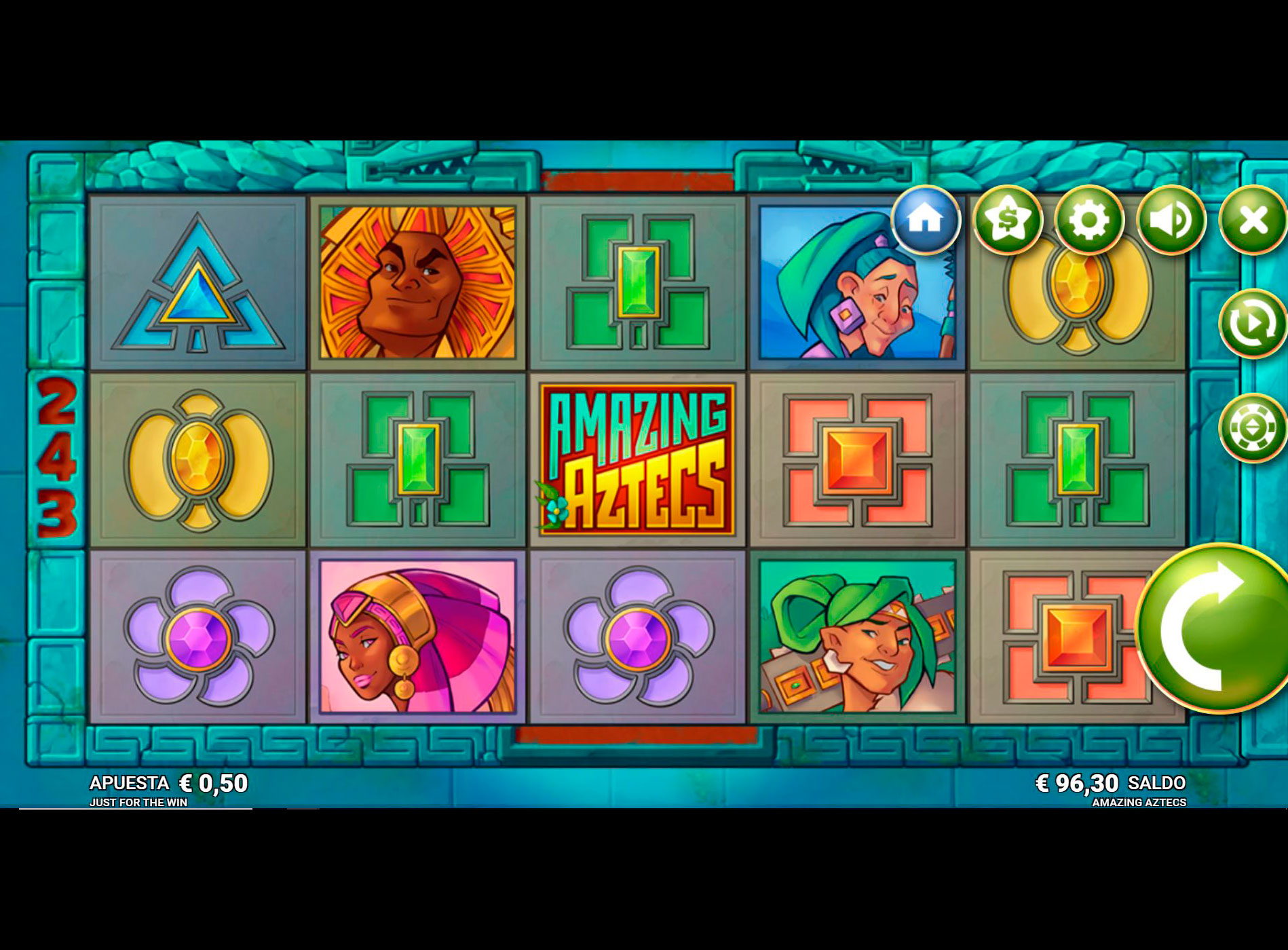 Slot Amazing Aztecs
