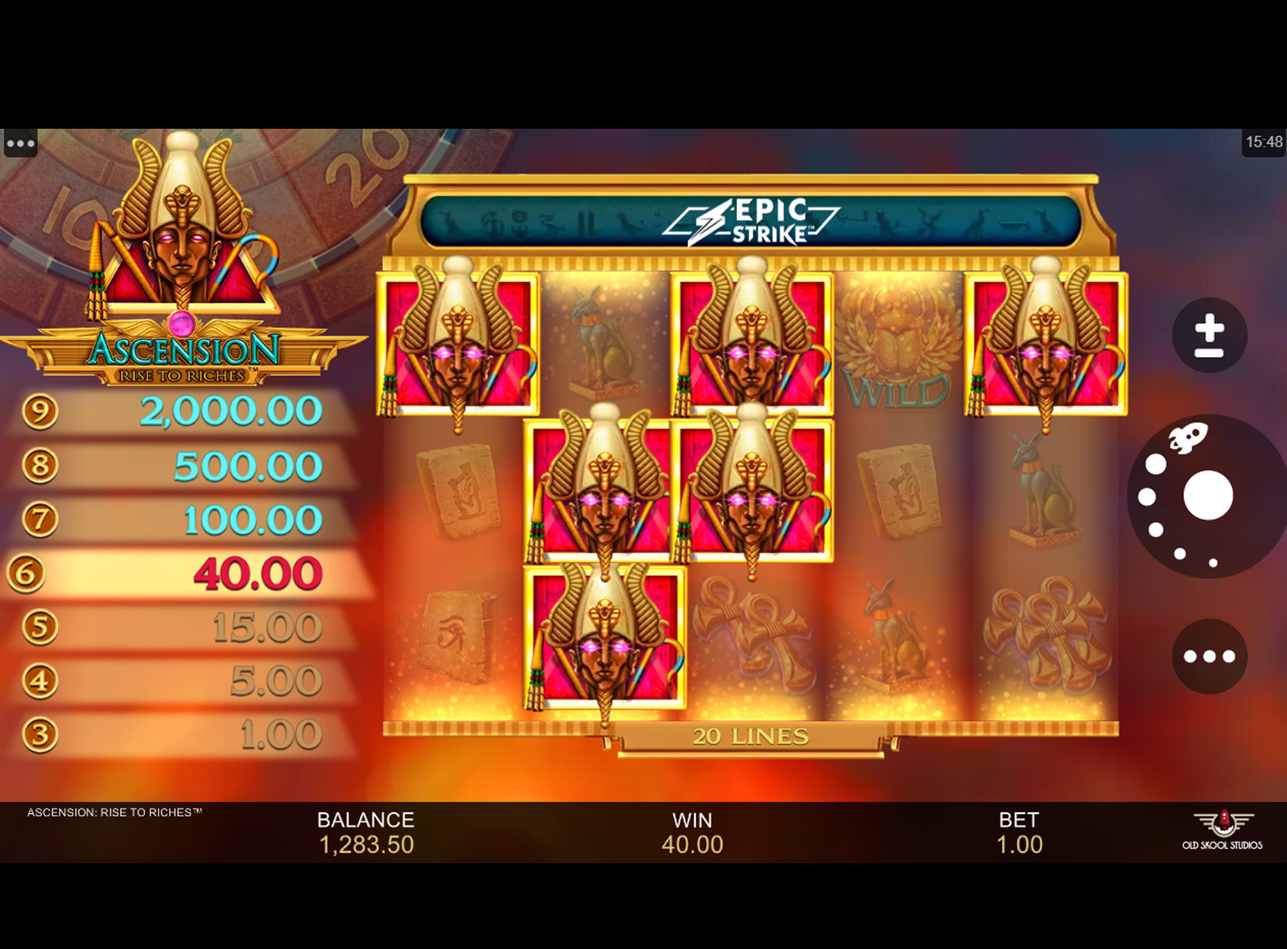 Slot Ascension Rise to Riches