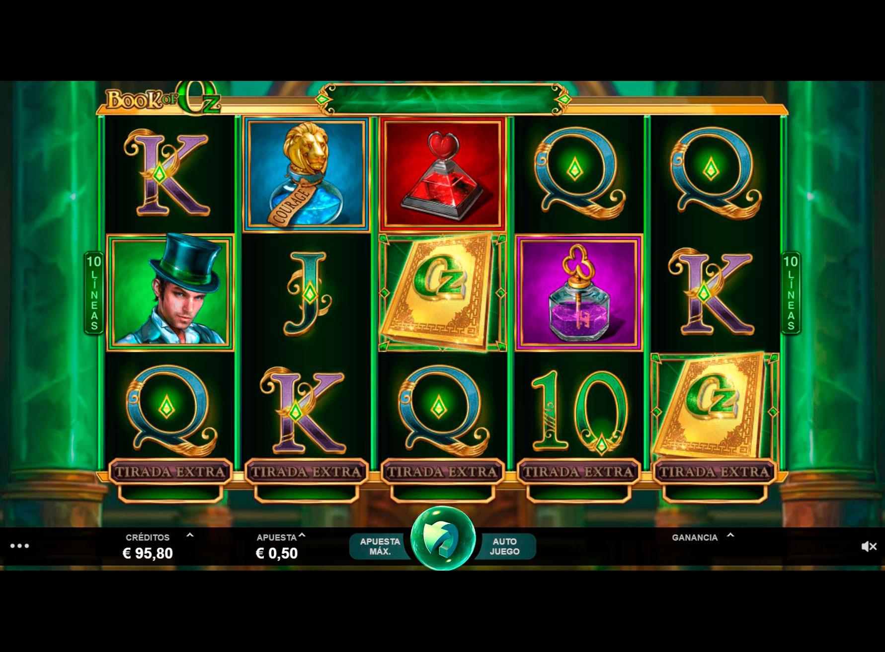 Slot Book of Oz