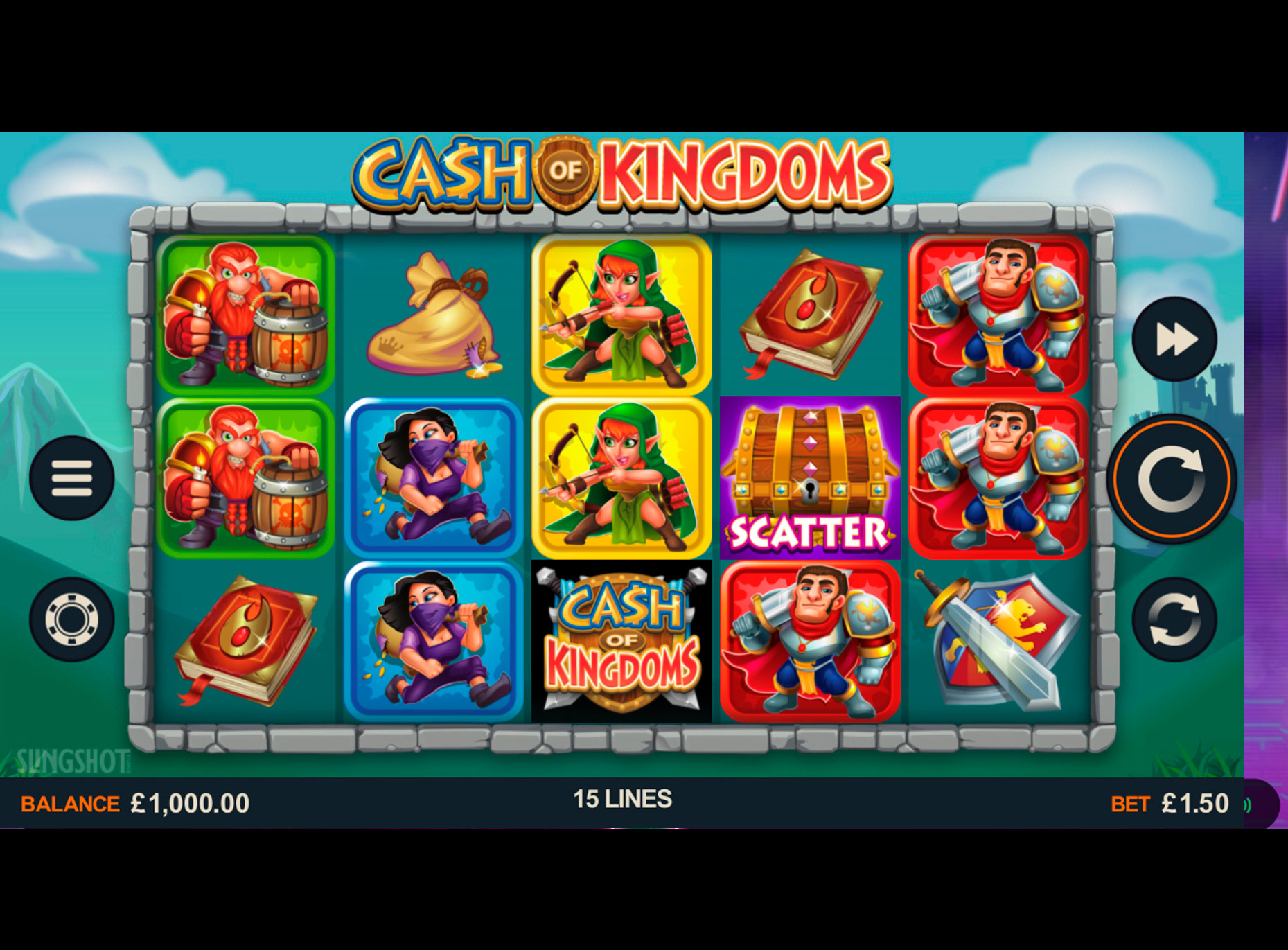 Slot Cash of Kingdoms