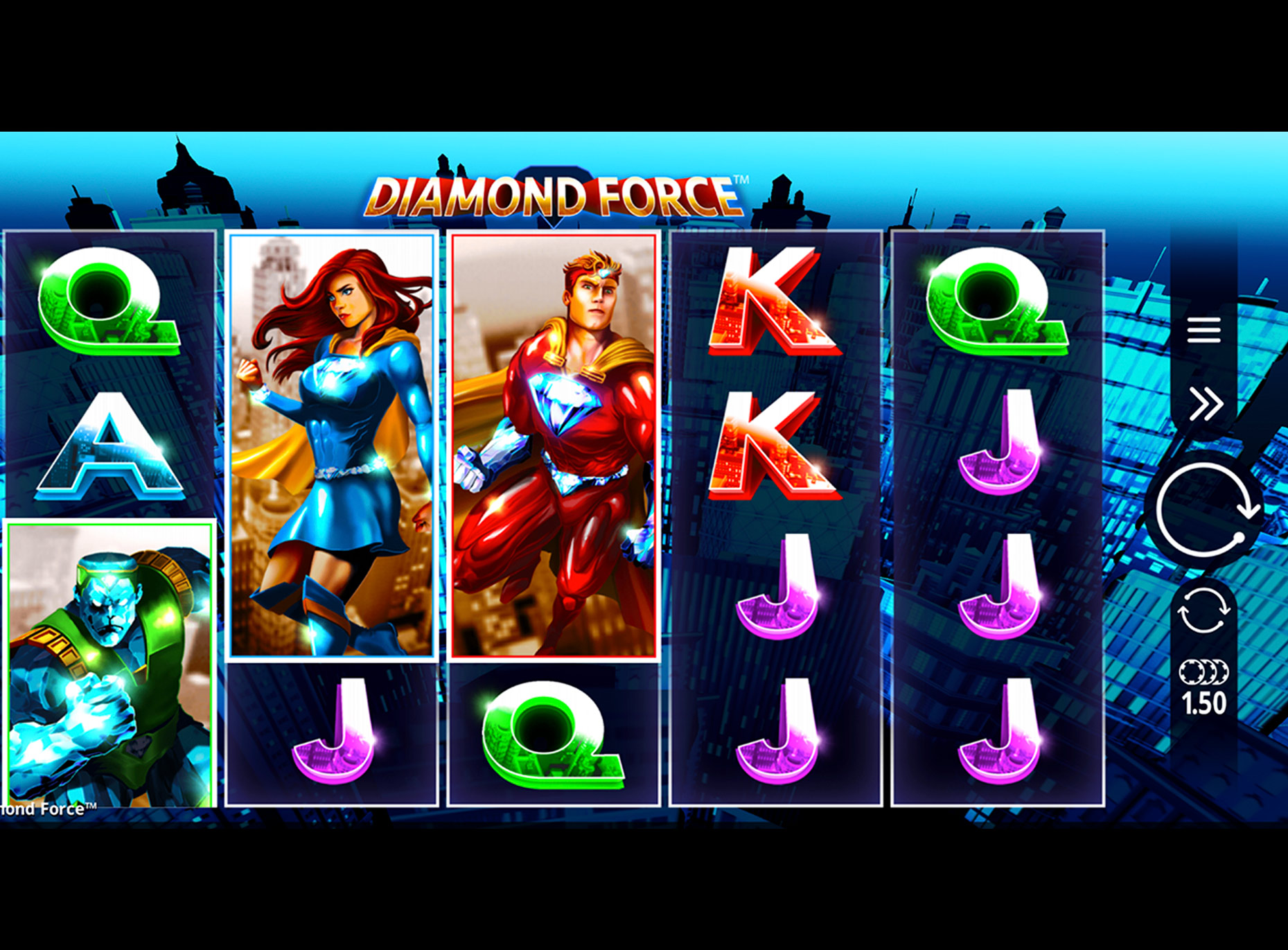 Slot Diamond Force