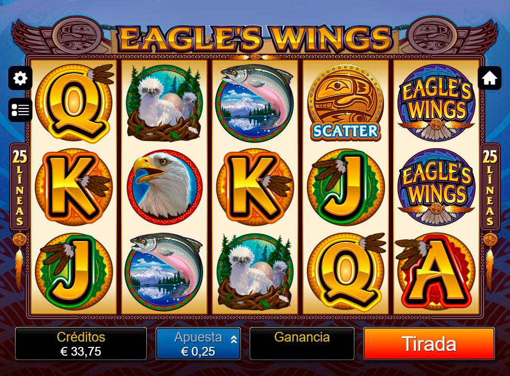 Slot Eagles Wings