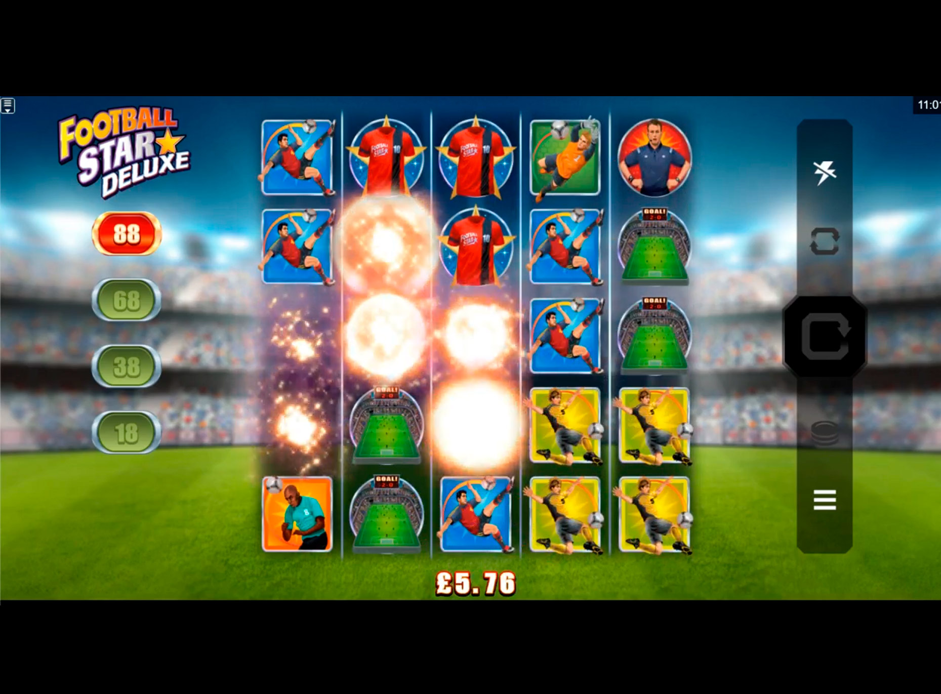 Slot Football Star Deluxe