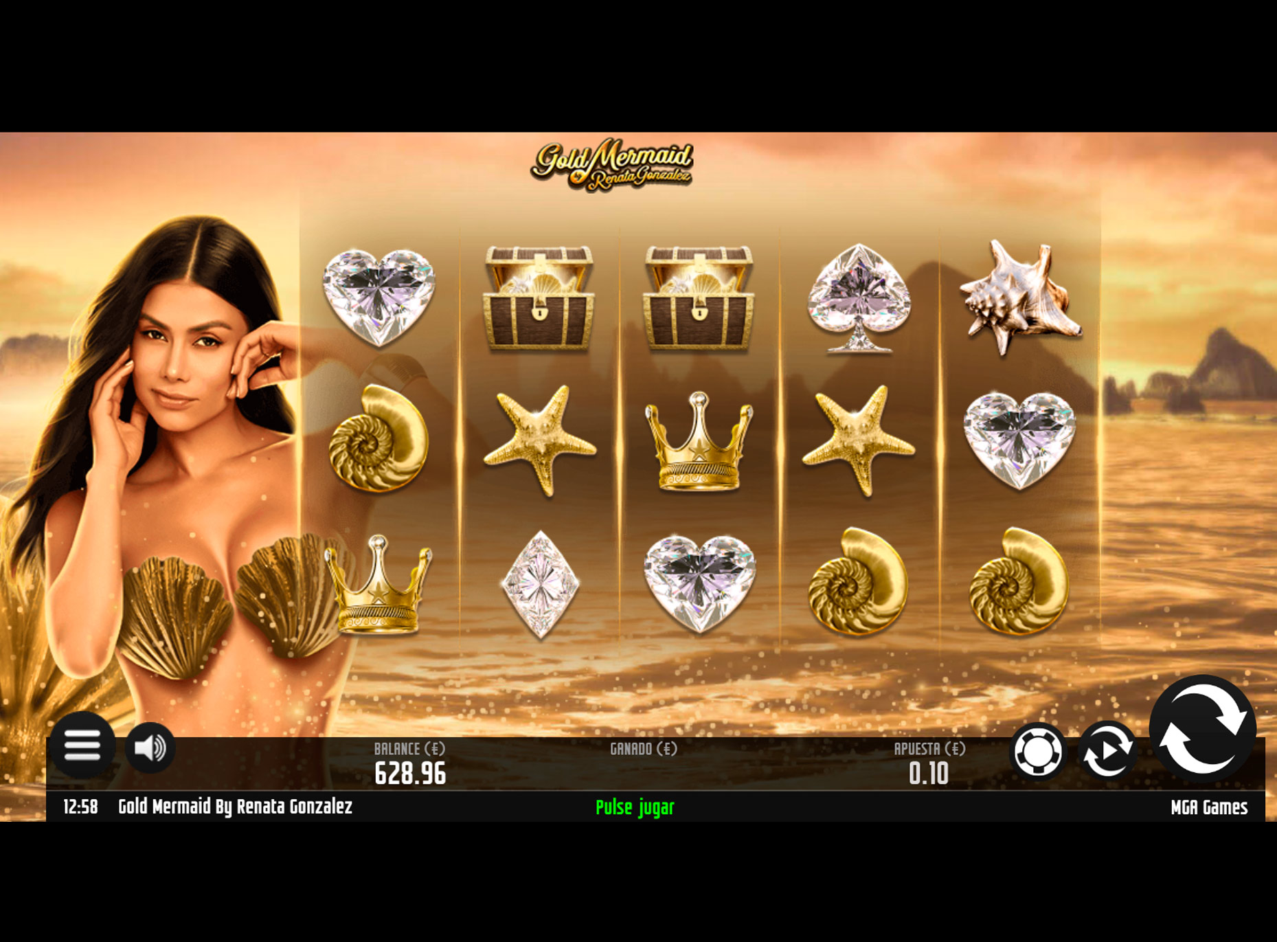 Slot Gold Mermaid