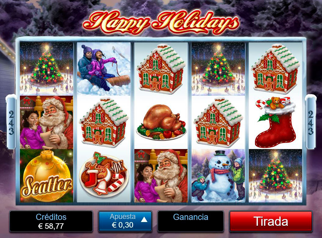 Slot Happy Holidays