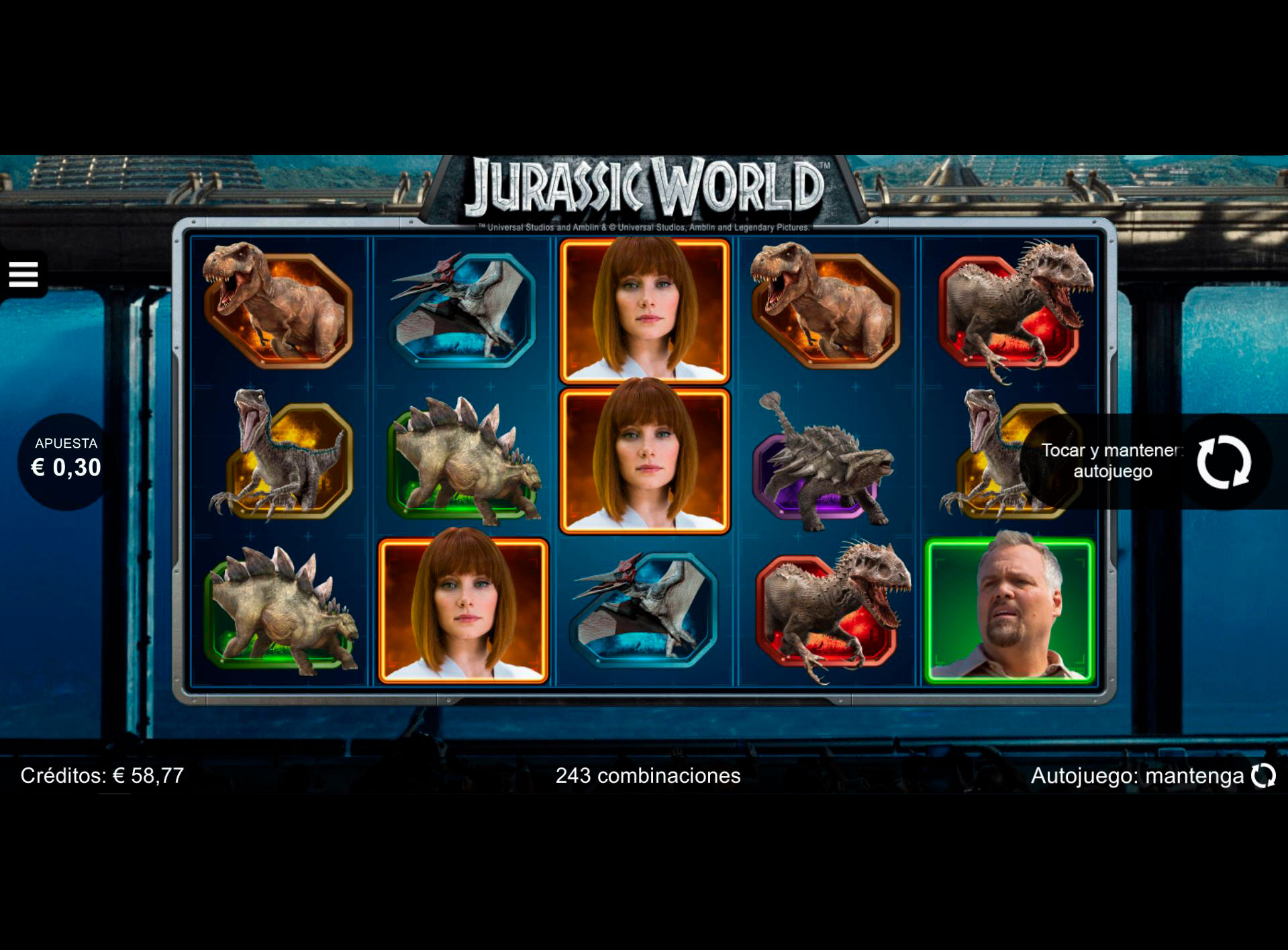 Slot Jurassic World