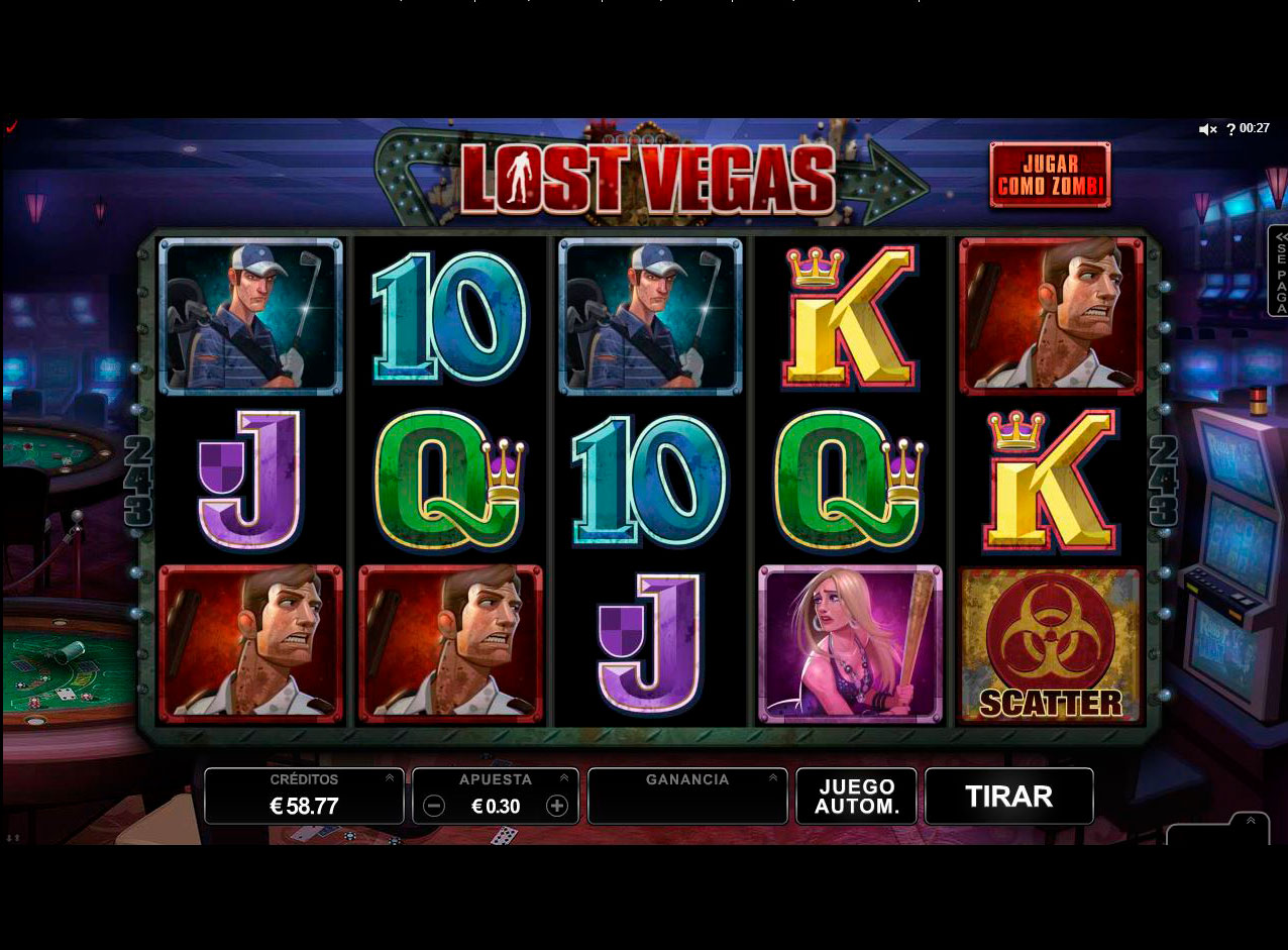 Slot Lost Vegas
