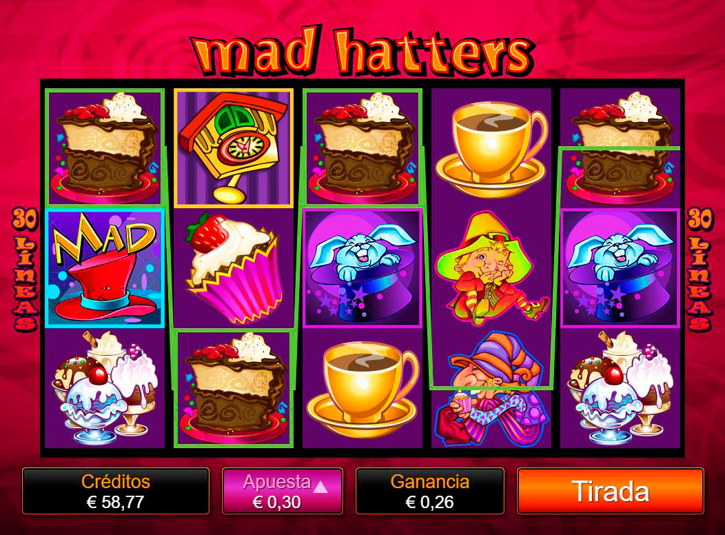 Slot Mad Hatters