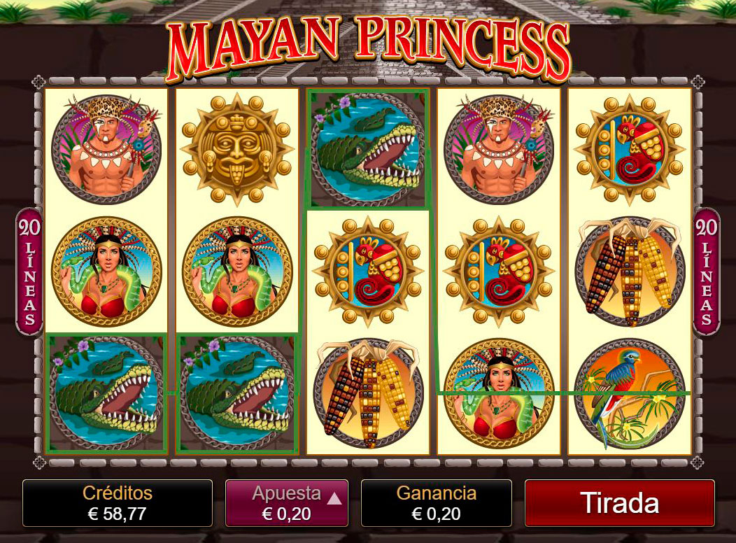 Slot Mayan Princess