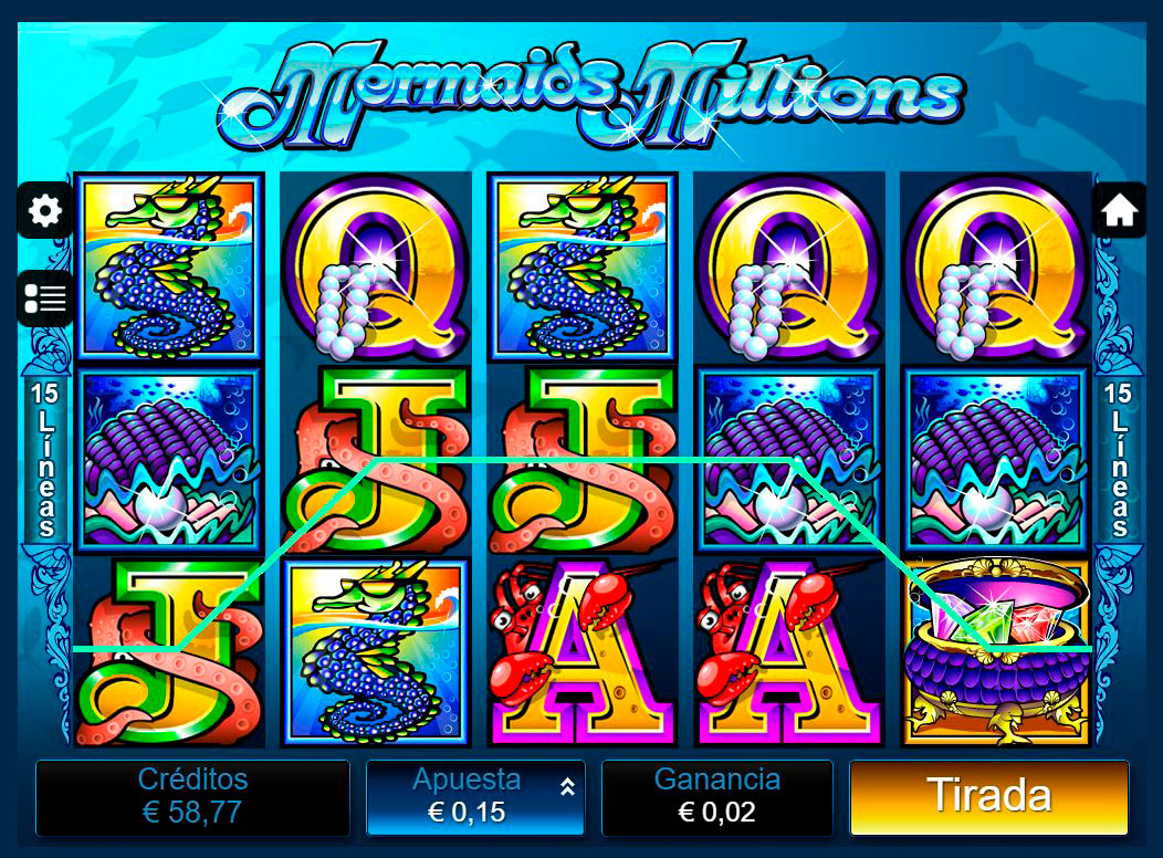 Slot Mermaids Millions