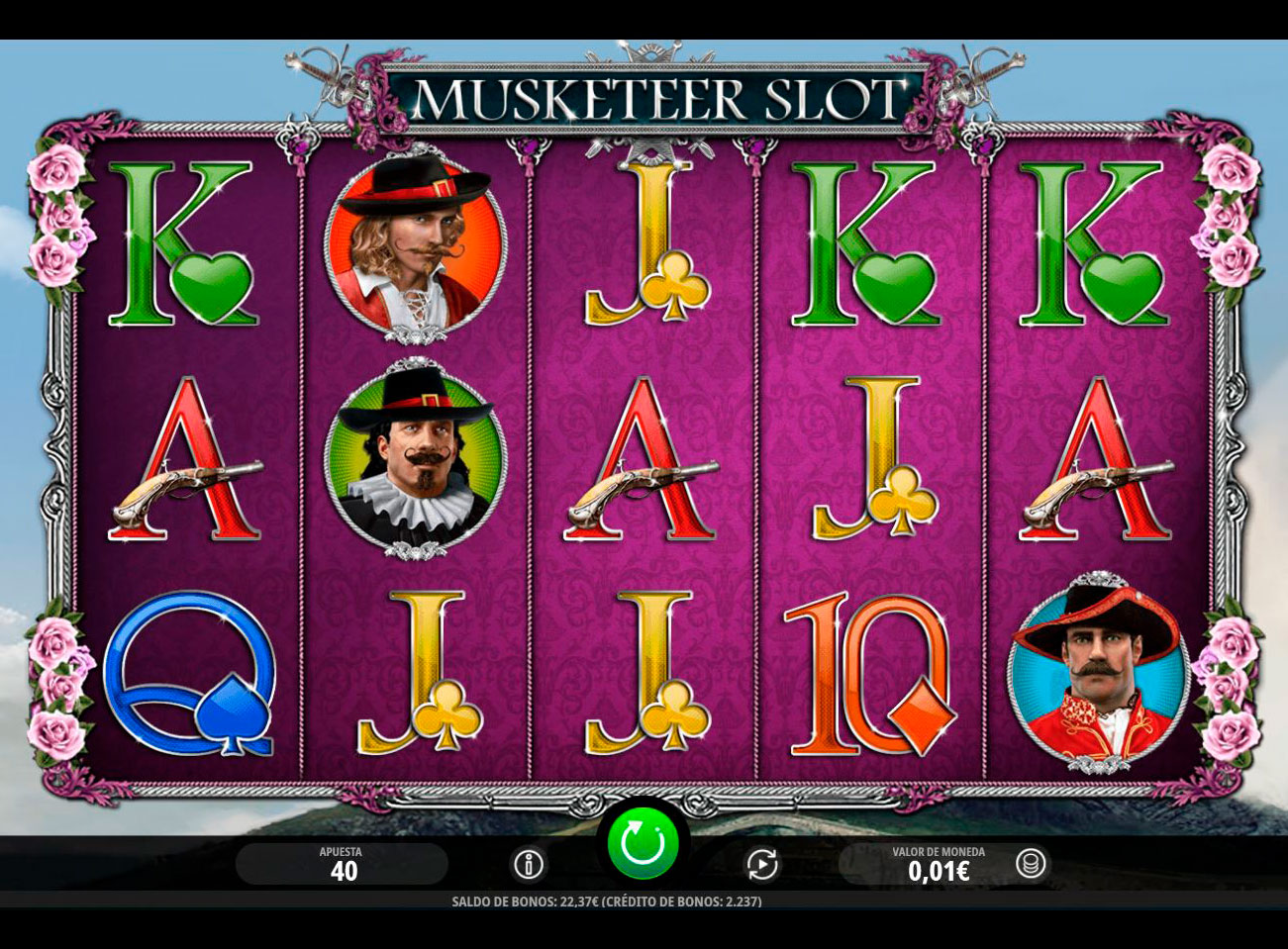 Slot Musketeer