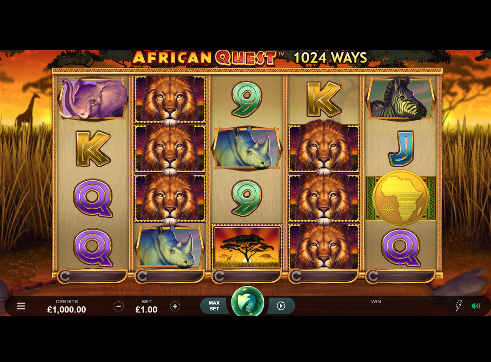 Slot African Quest