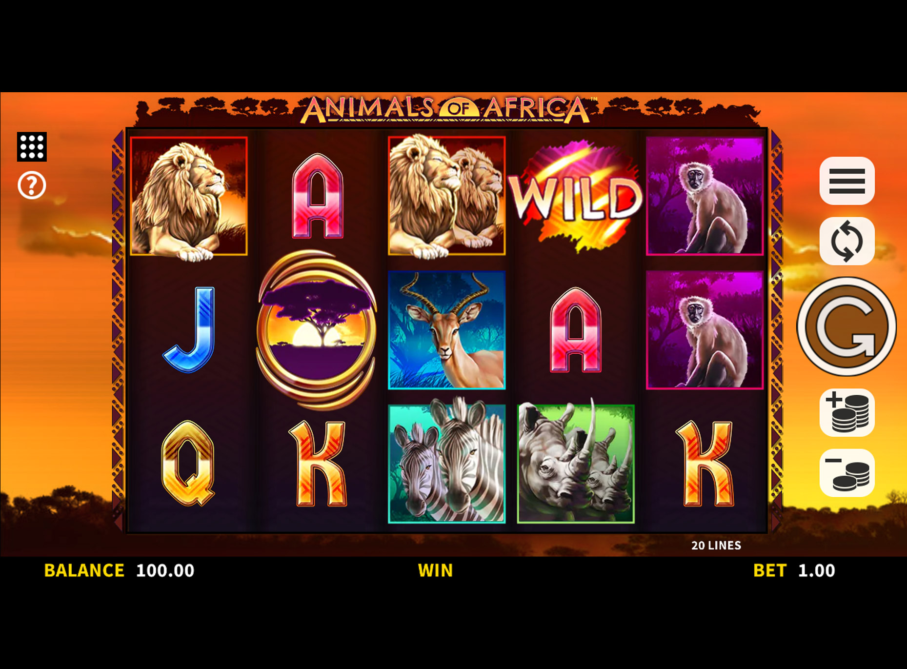 Slot Animals of Africa