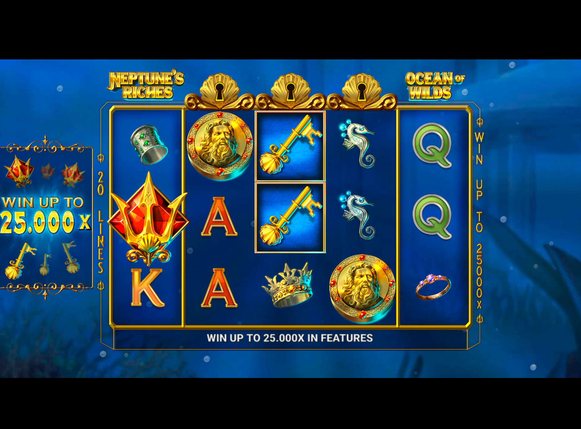 Slot Neptunes Riches: Ocean of Wilds