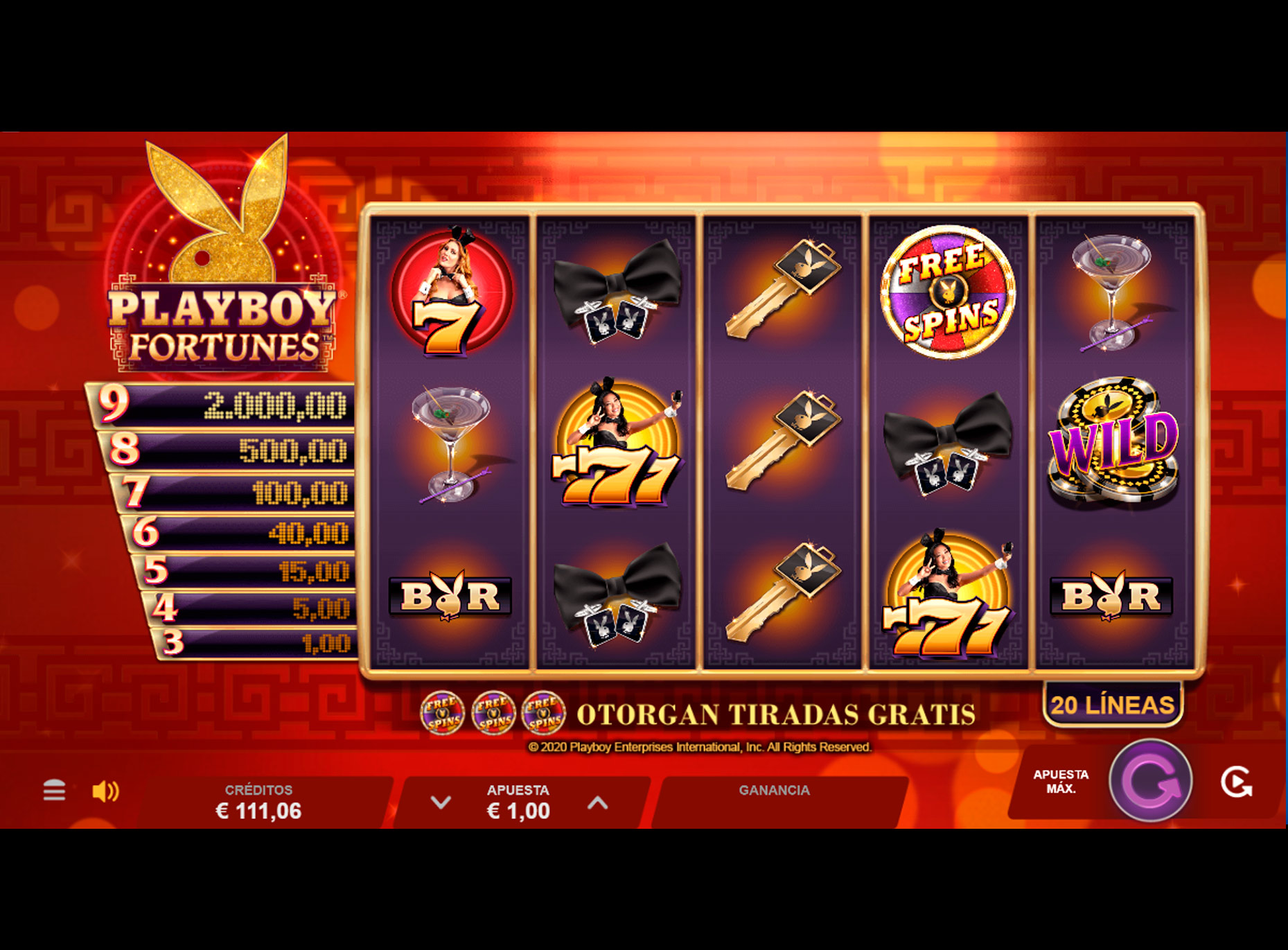 Slot Playboy Fortunes