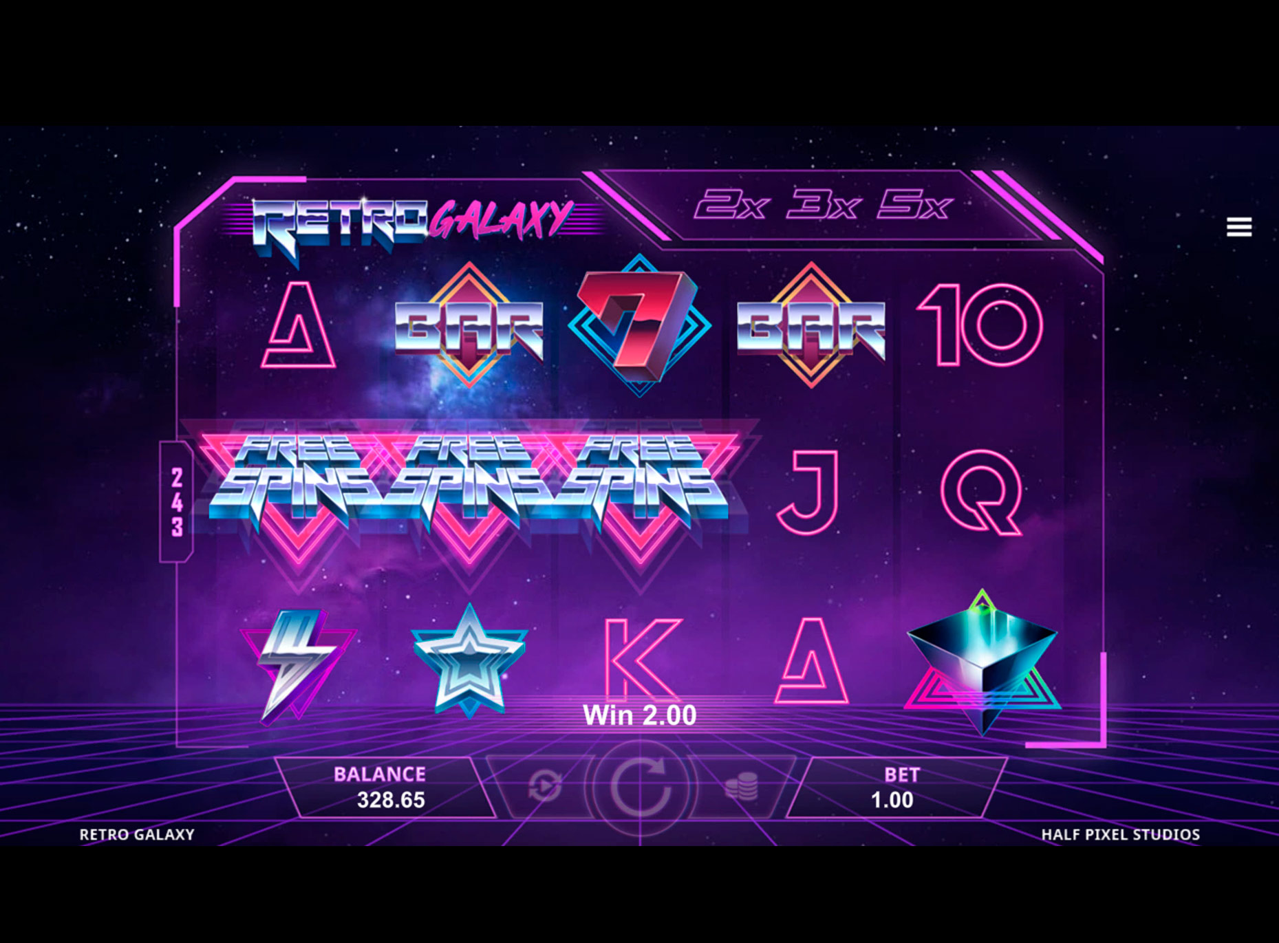 Slot Retro Galaxy