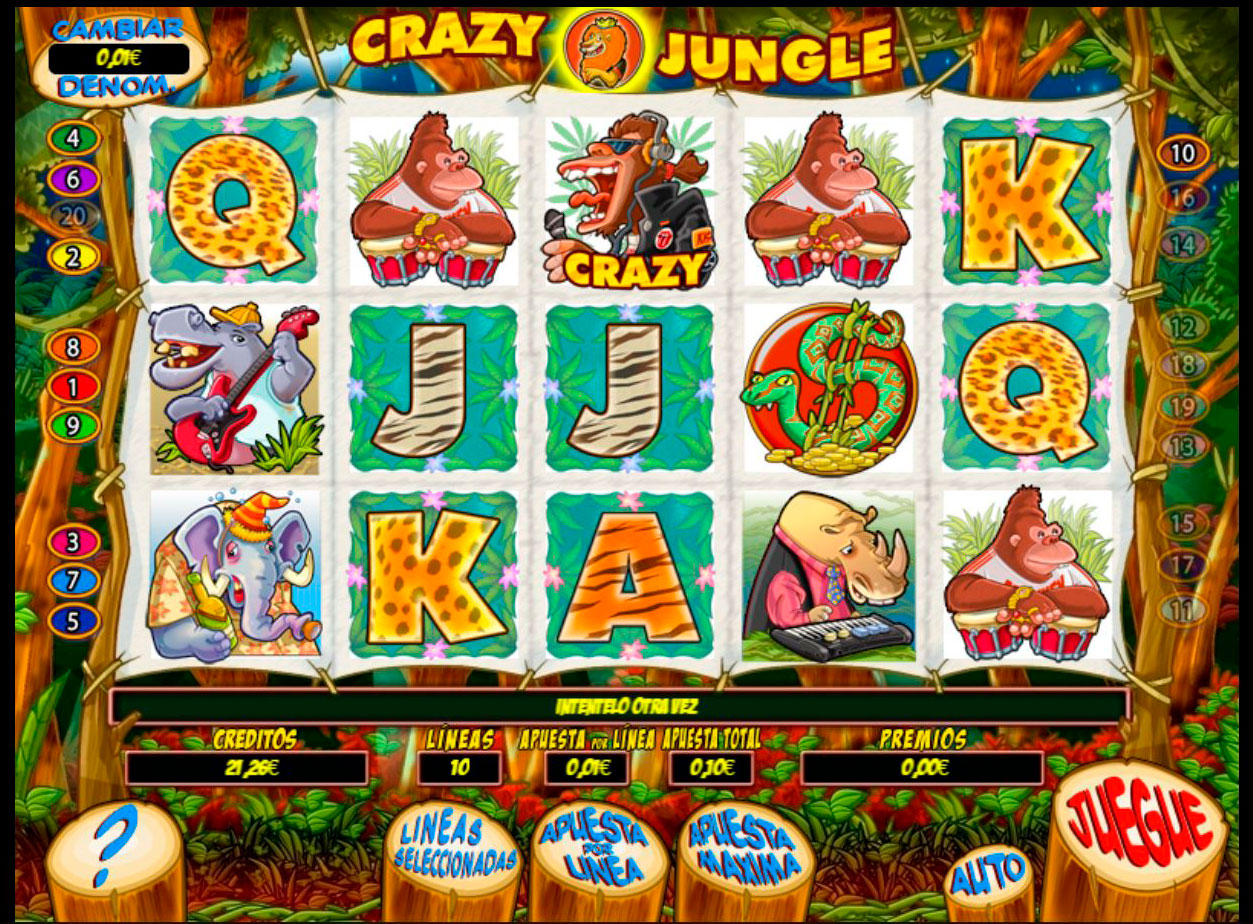 Slot Crazy Jungle