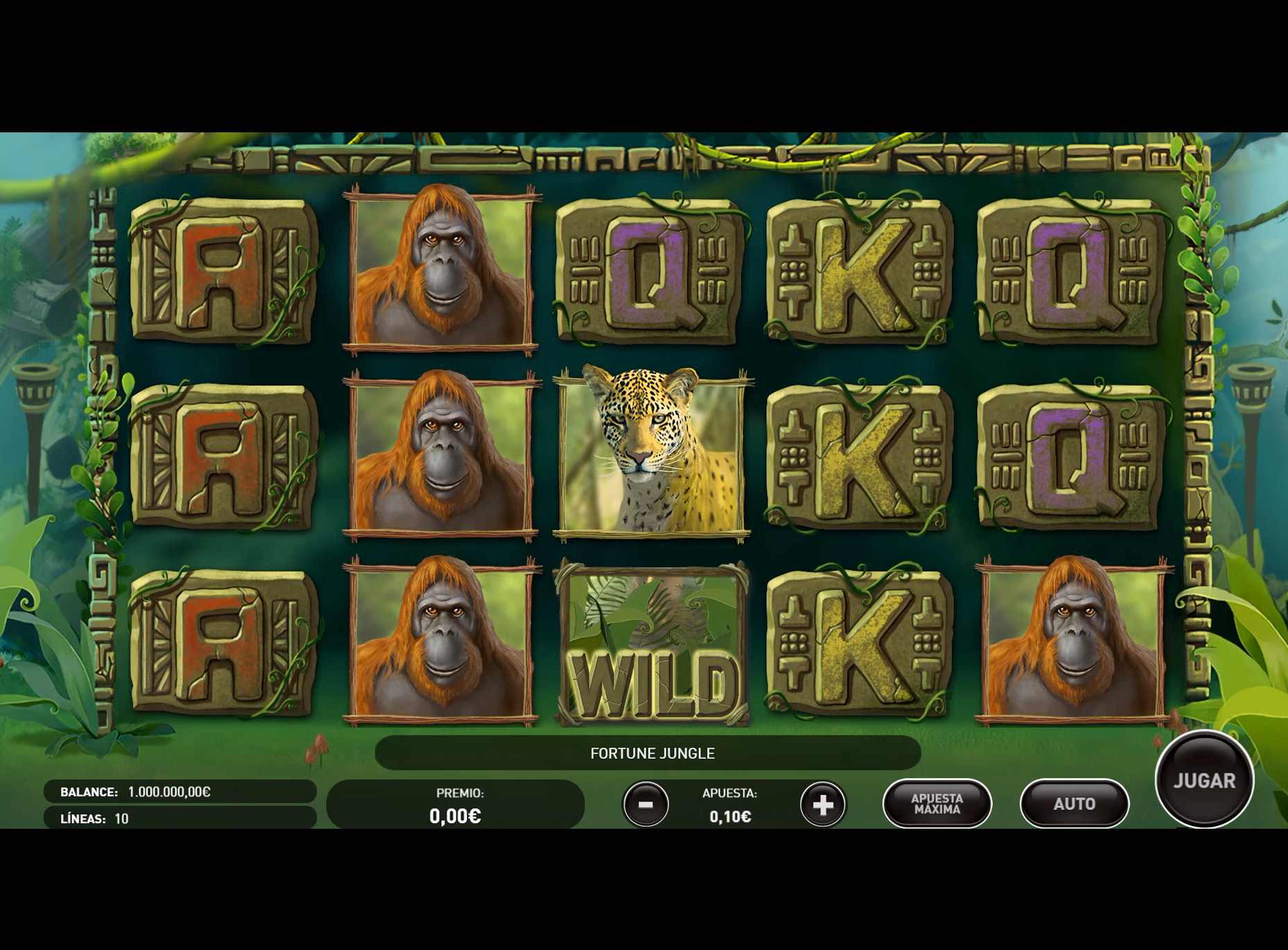 Slot Fortune Jungle