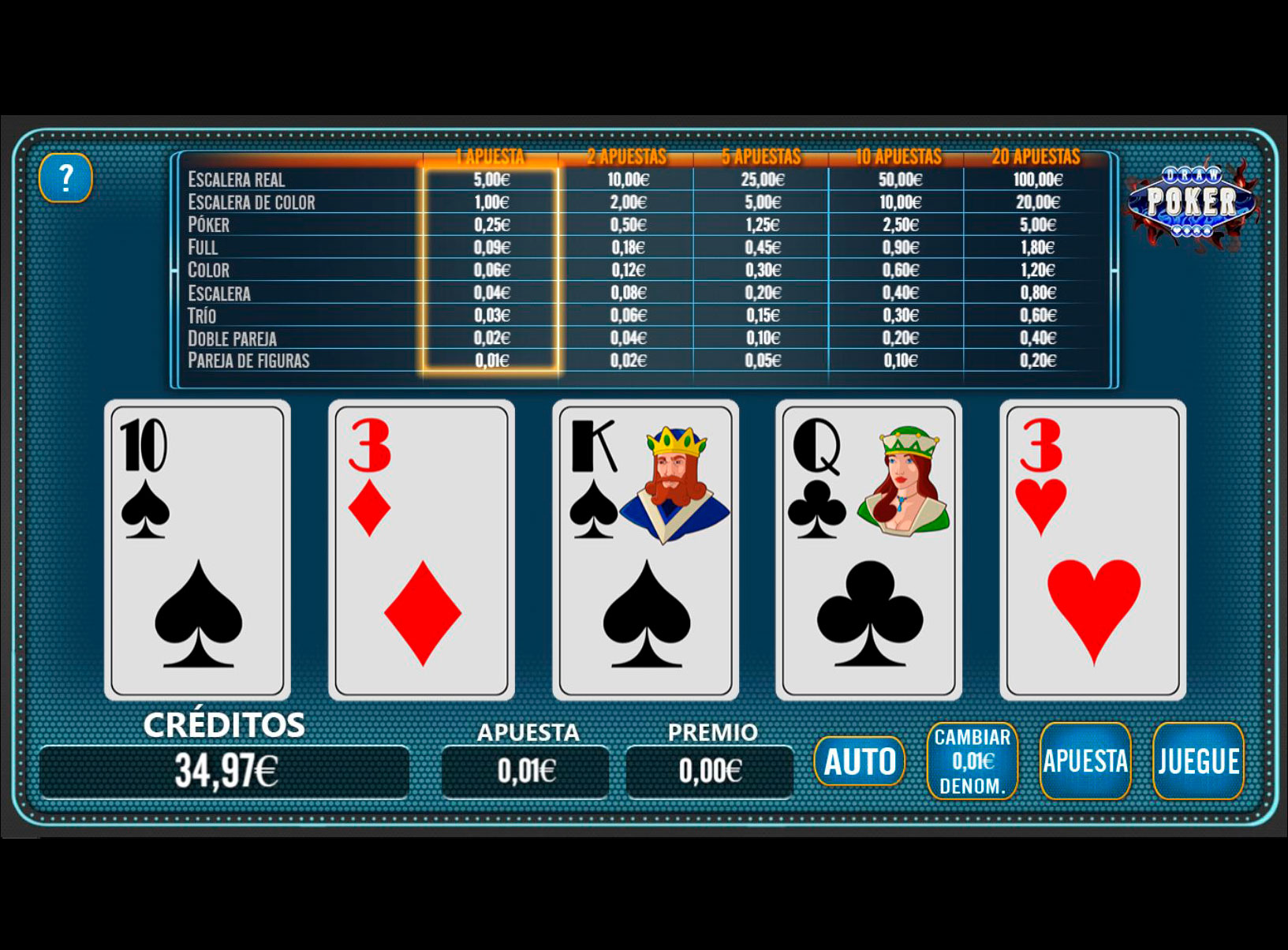Slot Draw Poker
