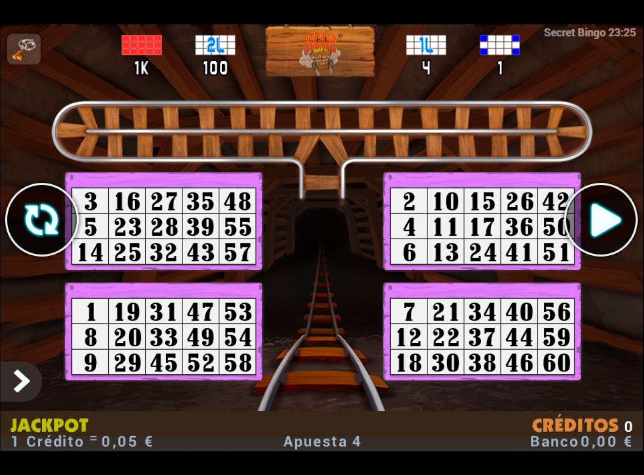 Slot Secret Bingo